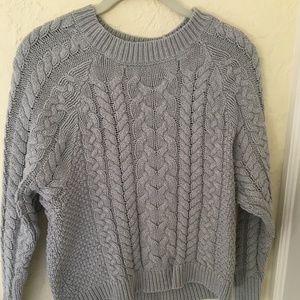 Grey and White sweater bundle